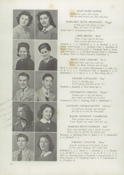 Page 16, 1944 Edition, Red Bank High School - Log Yearbook (Red Bank, NJ) online yearbook collection