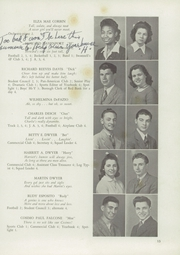 Page 17, 1944 Edition, Red Bank High School - Log Yearbook (Red Bank, NJ) online yearbook collection