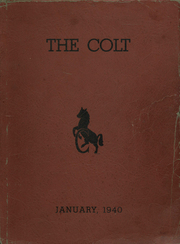 1940 Edition, Central High School - Colt Yearbook (Paterson, NJ)