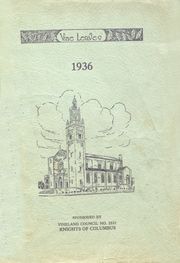 Sacred Heart High School - Vine Leaves Yearbook (Vineland, NJ) online yearbook collection, 1936 Edition, Page 1