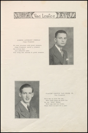 Page 13, 1936 Edition, Sacred Heart High School - Vine Leaves Yearbook (Vineland, NJ) online yearbook collection