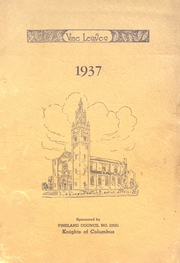 Sacred Heart High School - Vine Leaves Yearbook (Vineland, NJ) online yearbook collection, 1937 Edition, Page 1