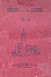 Sacred Heart High School - Vine Leaves Yearbook (Vineland, NJ) online yearbook collection, 1940 Edition, Page 1