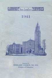 Page 1, 1941 Edition, Sacred Heart High School - Vine Leaves Yearbook (Vineland, NJ) online yearbook collection