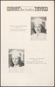 Page 16, 1941 Edition, Sacred Heart High School - Vine Leaves Yearbook (Vineland, NJ) online yearbook collection