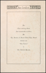 Page 3, 1941 Edition, Sacred Heart High School - Vine Leaves Yearbook (Vineland, NJ) online yearbook collection