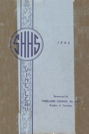 Page 1, 1946 Edition, Sacred Heart High School - Vine Leaves Yearbook (Vineland, NJ) online yearbook collection