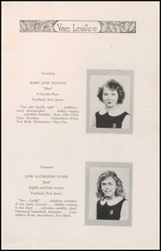Page 17, 1948 Edition, Sacred Heart High School - Vine Leaves Yearbook (Vineland, NJ) online yearbook collection