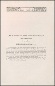 Page 5, 1948 Edition, Sacred Heart High School - Vine Leaves Yearbook (Vineland, NJ) online yearbook collection