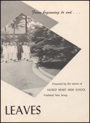 Page 7, 1953 Edition, Sacred Heart High School - Vine Leaves Yearbook (Vineland, NJ) online yearbook collection
