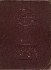 Page 1, 1936 Edition, Merchantville High School - Record Yearbook (Merchantville, NJ) online yearbook collection