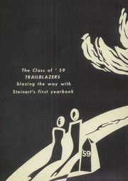 Page 6, 1959 Edition, Hamilton East Steinert High School - Cresset Yearbook (Hamilton, NJ) online yearbook collection