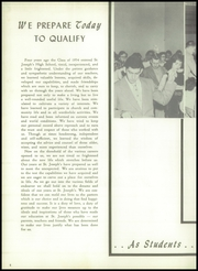 Page 8, 1954 Edition, St Josephs High School - Lily Yearbook (Hammonton, NJ) online yearbook collection