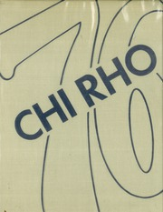 1976 Edition, Saint Pius X High School - Chi Rho Yearbook (Piscataway, NJ)