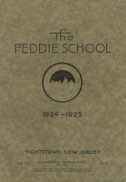 Page 1, 1925 Edition, Peddie School - Old Gold and Blue Yearbook (Hightstown, NJ) online yearbook collection