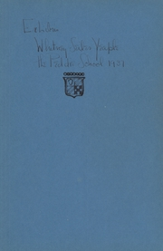 Page 3, 1937 Edition, Peddie School - Old Gold and Blue Yearbook (Hightstown, NJ) online yearbook collection
