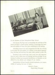 Page 10, 1940 Edition, East Rutherford High School - Tea Leaf Yearbook (East Rutherford, NJ) online yearbook collection