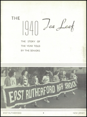 Page 9, 1940 Edition, East Rutherford High School - Tea Leaf Yearbook (East Rutherford, NJ) online yearbook collection