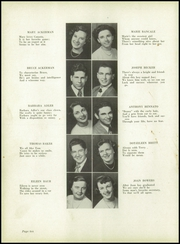 Page 14, 1951 Edition, East Rutherford High School - Tea Leaf Yearbook (East Rutherford, NJ) online yearbook collection