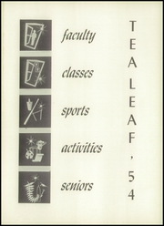 Page 5, 1954 Edition, East Rutherford High School - Tea Leaf Yearbook (East Rutherford, NJ) online yearbook collection