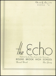 Page 7, 1938 Edition, Bound Brook High School - Echo Yearbook (Bound Brook, NJ) online yearbook collection