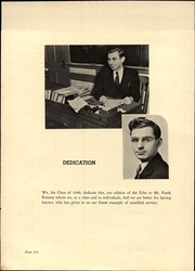 Page 10, 1940 Edition, Bound Brook High School - Echo Yearbook (Bound Brook, NJ) online yearbook collection