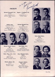 Page 13, 1940 Edition, Bound Brook High School - Echo Yearbook (Bound Brook, NJ) online yearbook collection