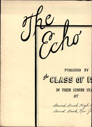 Page 6, 1940 Edition, Bound Brook High School - Echo Yearbook (Bound Brook, NJ) online yearbook collection