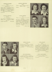 Page 15, 1944 Edition, Bound Brook High School - Echo Yearbook (Bound Brook, NJ) online yearbook collection