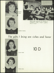 Page 74, 1959 Edition, St Michael High School - Archangelo Yearbook (Jersey City, NJ) online yearbook collection