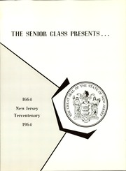 Page 5, 1964 Edition, Cathedral High School - Cathedral Yearbook (Trenton, NJ) online yearbook collection