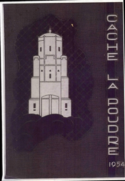 1954 Edition, University of Northern Colorado - Cache La Poudre Yearbook (Greeley, CO)