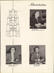 Page 17, 1954 Edition, University of Northern Colorado - Cache La Poudre Yearbook (Greeley, CO) online yearbook collection