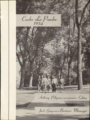 Page 5, 1954 Edition, University of Northern Colorado - Cache La Poudre Yearbook (Greeley, CO) online yearbook collection