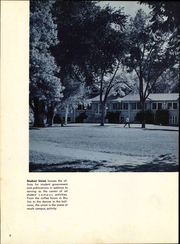 Page 12, 1956 Edition, University of Northern Colorado - Cache La Poudre Yearbook (Greeley, CO) online yearbook collection