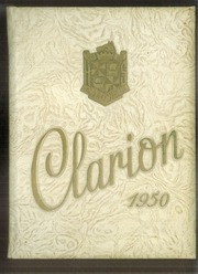 1950 Edition, Grover Cleveland High School - Clarion Yearbook (Caldwell, NJ)