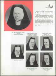 Page 12, 1958 Edition, St Joseph High School - Cordon Yearbook (Camden, NJ) online yearbook collection