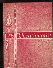 1935 Edition, Camden County Vocational School - Vocationalist Yearbook (Pennsauken, NJ)