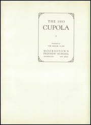 Page 5, 1933 Edition, Moorestown Friends High School - Cupola Yearbook (Moorestown, NJ) online yearbook collection