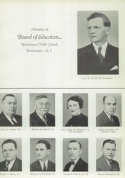Page 9, 1940 Edition, Washington High School - Cache Yearbook (Washington, NJ) online yearbook collection