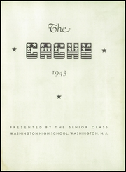 Page 5, 1943 Edition, Washington High School - Cache Yearbook (Washington, NJ) online yearbook collection