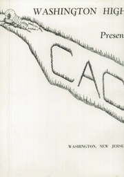 Page 4, 1949 Edition, Washington High School - Cache Yearbook (Washington, NJ) online yearbook collection