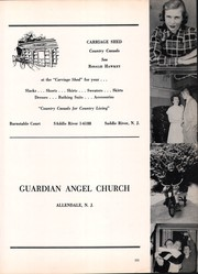 Page 15, 1956 Edition, St Lukes High School - Pindarian Yearbook (Ho Ho Kus, NJ) online yearbook collection