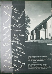 Page 2, 1956 Edition, St Lukes High School - Pindarian Yearbook (Ho Ho Kus, NJ) online yearbook collection
