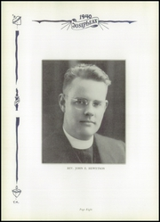 Page 12, 1940 Edition, St Joseph High School - Josephean Yearbook (Paterson, NJ) online yearbook collection