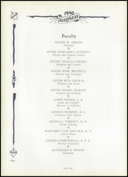 Page 14, 1940 Edition, St Joseph High School - Josephean Yearbook (Paterson, NJ) online yearbook collection