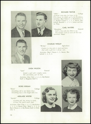 Page 16, 1949 Edition, Sussex High School - Hy Pointer Yearbook (Sussex, NJ) online yearbook collection