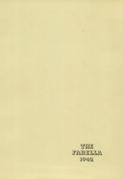 Page 3, 1942 Edition, Macfarland High School - Fabella Yearbook (Bordentown, NJ) online yearbook collection