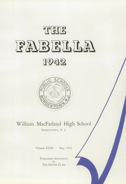 Page 7, 1942 Edition, Macfarland High School - Fabella Yearbook (Bordentown, NJ) online yearbook collection