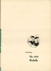 Page 5, 1950 Edition, Macfarland High School - Fabella Yearbook (Bordentown, NJ) online yearbook collection